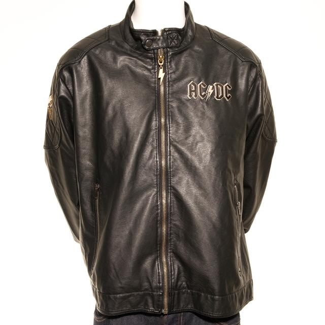 AC/DC Rock Or Bust Faux Leather Tour Jacket