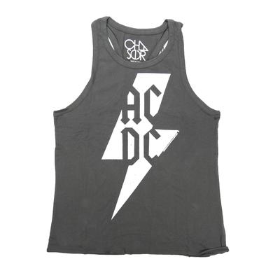 AC/DC Women's Blackout Bolt Tank Top