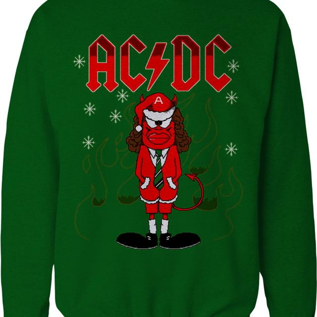 AC/DC Angus Christmas Sweatshirt