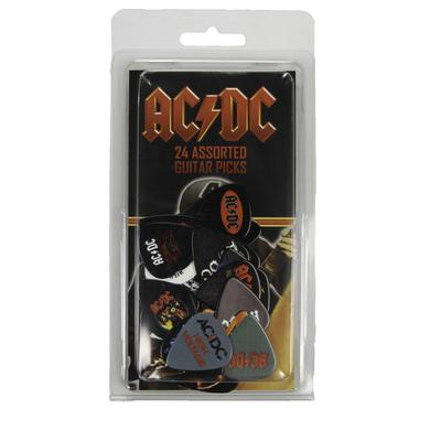 AC/DC Logos & Covers 24 Pick Pack