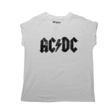 AC/DC Women's Asphalt Logo Sleeveless T-Shirt
