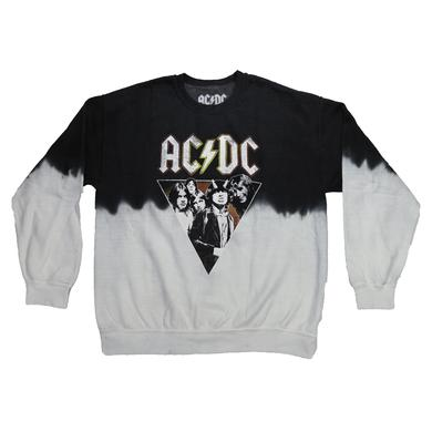 AC/DC Juniors Duo-Tone Highway Cannon Crew Neck Sweatshirt
