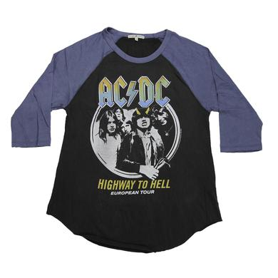 AC/DC Highway To Hell Women's 3/4 Sleeve Tee