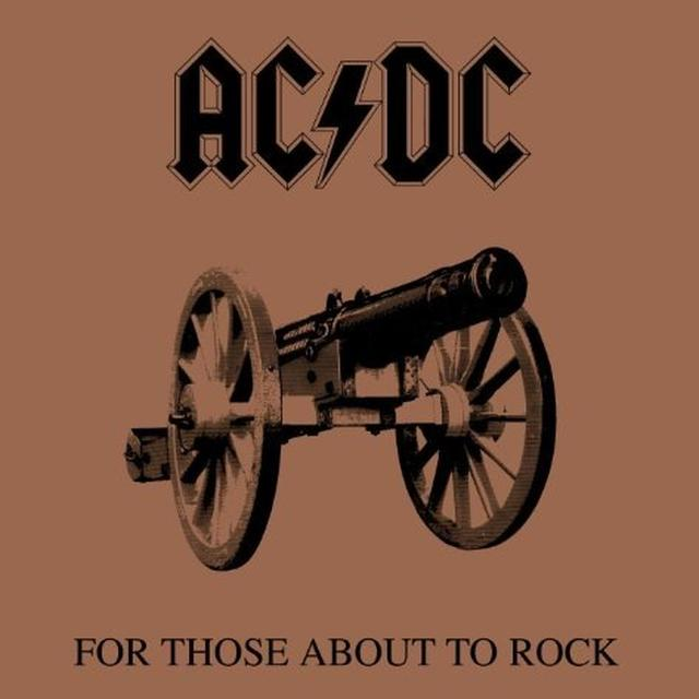 AC/DC For Those About To Rock LP