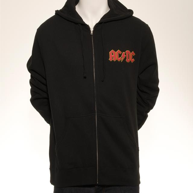 AC/DC Rock Or Bust World Tour Zip Hoodie