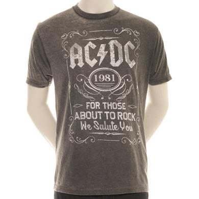 AC/DC For Those About To Drink T-Shirt