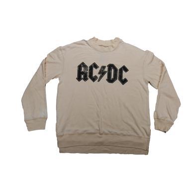 AC/DC ACDC Lightning Logo Sweater
