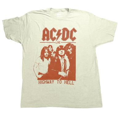 AC/DC Highway Red Silhouette Cover T-Shirt