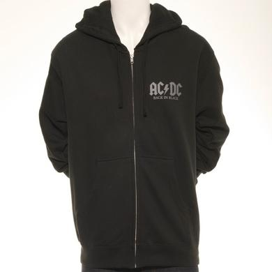 AC/DC Back In Black Limited Edition 35th Anniversary Hoodie