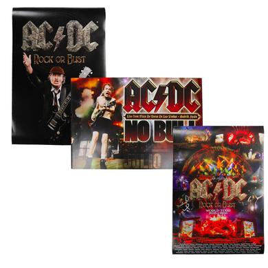 AC/DC Three Poster Bundle