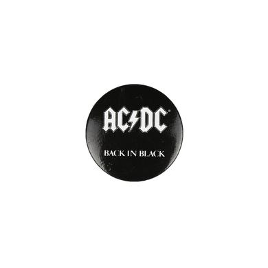 AC/DC Back In Black Button