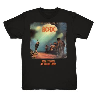 AC/DC Let There Be Rock 40th Anniversary T-Shirt