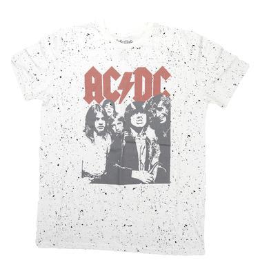 AC/DC Women's Highway Splatter T-Shirt