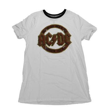 AC/DC Girls Vintage Voltage Logo T-shirt