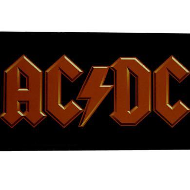 AC/DC Red Logo Breakfast Board