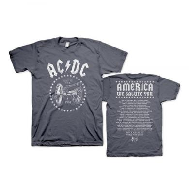 AC/DC America We Salute You 2016 T-Shirt
