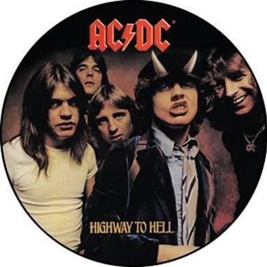 AC/DC Highway To Hell Photo Button