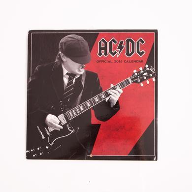 AC/DC 2016 European Wall Calendar