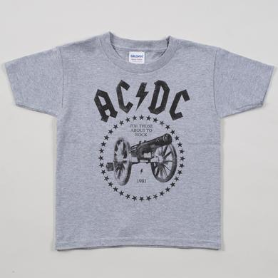 AC/DC For Toddler's About To Rock T-Shirt