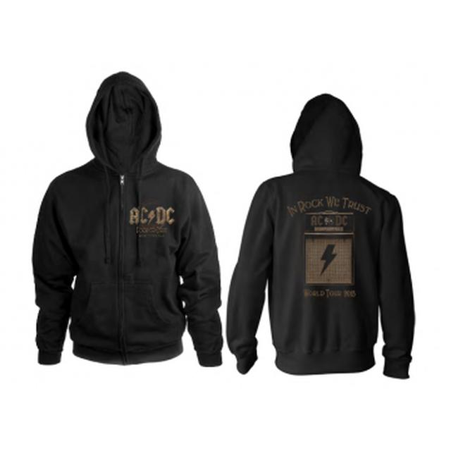 AC/DC Rock Or Bust 2016 Amp North American Tour Hoodie