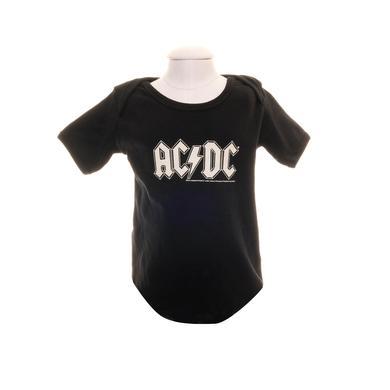 AC/DC Black Classic Logo Onesie