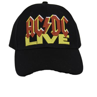 AC/DC Live Embroidered Crew Cap
