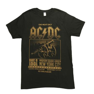 AC/DC MSG One Night Only T-Shirt
