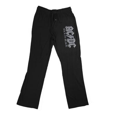 AC/DC Men's Back In Black PJ Pants