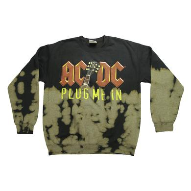 AC/DC Juniors Plug Me In Two-Tone Crew Neck Sweatshirt