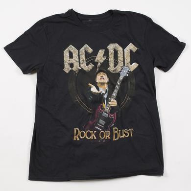 AC/DC Rock Or Bust 2016 North American Tour T-Shirt