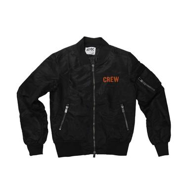 AC/DC Embroidered CREW Flight Jacket