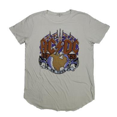 AC/DC On Tour 1983 T-Shirt