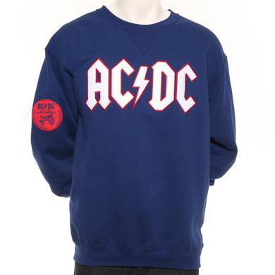Team AC/DC New York Crew Neck Fleece Sweatshirt