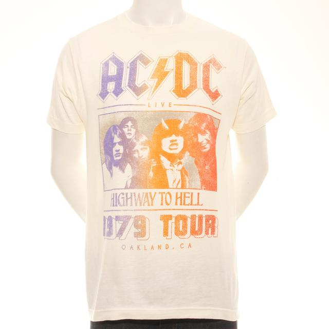 AC/DC Highway To Hell Oakland '79 Tour T-Shirt