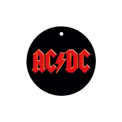AC/DC Logo Holiday Ornament