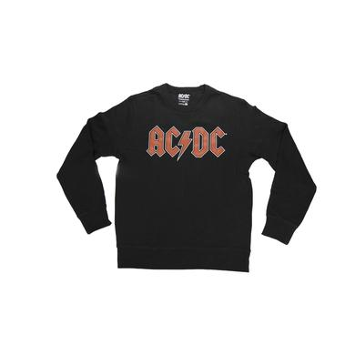 AC/DC Red Logo Crew Neck Sweatshirt