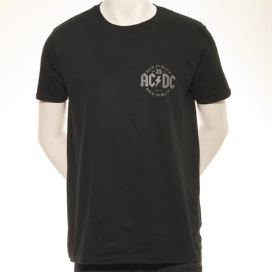 AC/DC Limited Edition Back In Black 35th Anniversary T-Shirt
