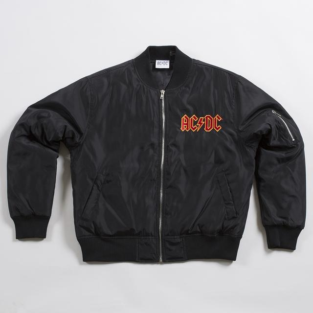 AC/DC Cannon Seal Bomber Jacket