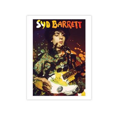 Syd Barrett Paisley Plays Fine Art Print