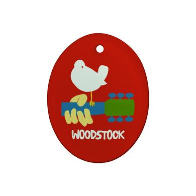 Woodstock Dove Holiday Ornament