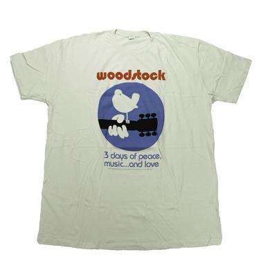 Woodstock White Dove, Peace & Love T-Shirt