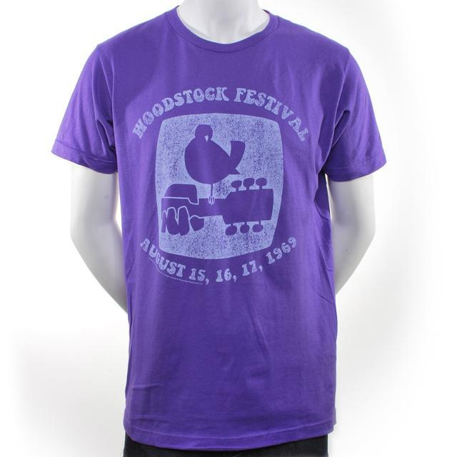 Woodstock Purple Dove T-Shirt
