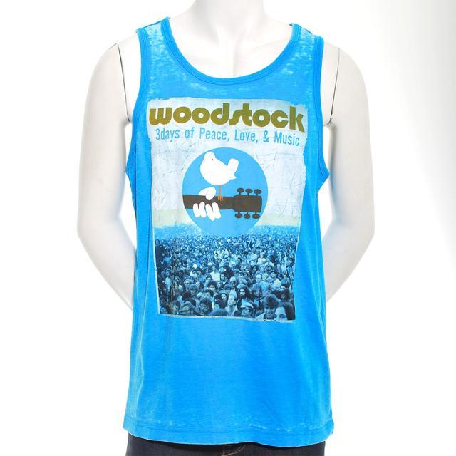 Woodstock Men's Vintage Poster Tank Top