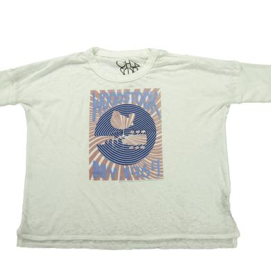 Woodstock Women's NY '69 Rising Sun Cropped T-Shirt