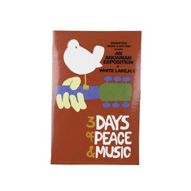 Woodstock Original Event Sticker