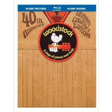 Woodstock 40th Anniversary Ultimate Collector's Edition Blu-Ray
