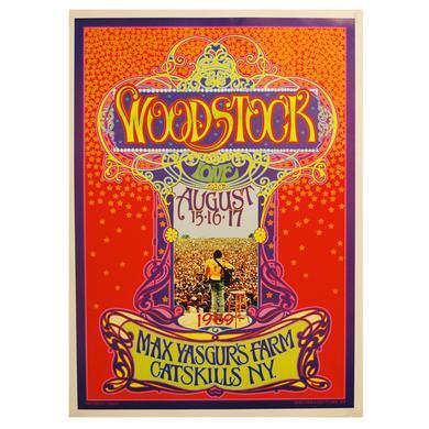 Woodstock Bob Masse Poster