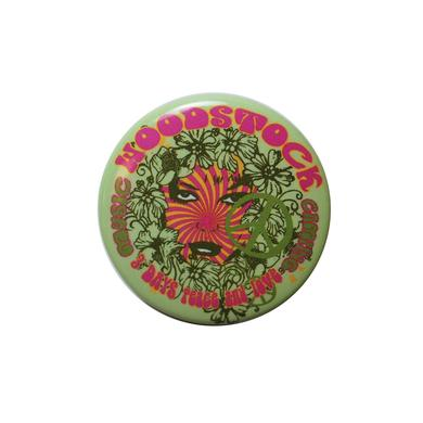 Woodstock Green Button
