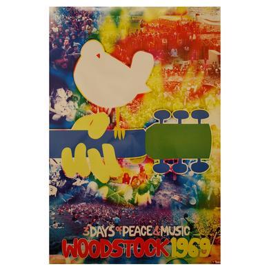 Woodstock Tie Dye Poster