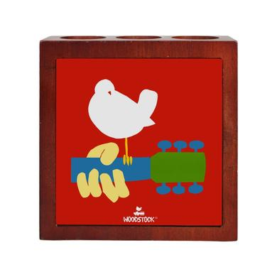 Woodstock Wooden Pen & Pencil Holder